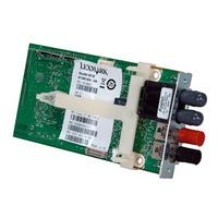 Lexmark MarkNet N8130 Fiber Ethernet 100BaseFX, 10BaseFL Print Server Serveur d'impression