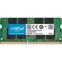 Crucial 8GB DDR4-2666 SODIMM, CL19, 1.2V, 1024Meg x 64 RAM-geheugen