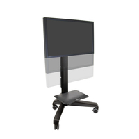 Ergotron Neo-Flex Mobile MediaCenter VHD Multimedia karren & stands - Zwart