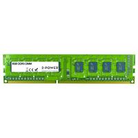 2-Power 8GB DDR3L 1600MHz 2Rx8 1.35V DIMM Memory Mémoire RAM - Vert