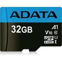 ADATA 32GB, microSDHC, Class 10 Mémoire flash - Noir, Bleu