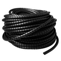 ACT 20 mm spiraalband, lengte 30 meter Kabelbeschermer - Zwart