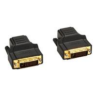 Black Box Kit extender vidéo DVI-D Adaptateur de câble - Noir