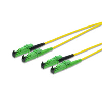 ASSMANN Electronic E2000-E2000, 5m Câble de fibre optique - Noir,Vert,Jaune
