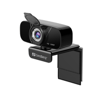 Sandberg USB Chat 1080P HD Webcam - Noir