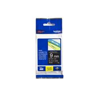 Brother TZE325 Labelprinter tape - Zwart