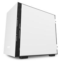 NZXT H210i Matte White Boîtier d'ordinateur - Noir, Blanc