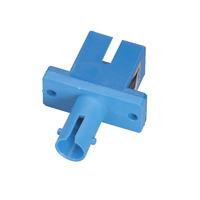 Black Box Fiber Optic Adapter - Multimode, Simplex Adaptateurs de fibres optiques - Bleu