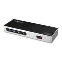 StarTech.com Hybride dual 4K USB-C docking station met 6x USB 3.0 poorten USB-A compatibel Docks & port .....