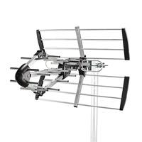 Nedis ABS/Aluminium, 75 Ohm, UHF, 14dB, 841mm, Reception range:≥50km Antenne - Noir, argent