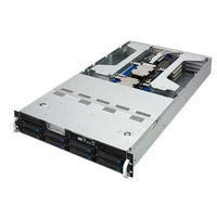 ASUS ESC4000 G4 Barebone server - Zwart, zilver