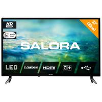 """Salora 2100 series 32"""" (82CM) HD LED TV MET DVB-S2/T/T2/C EN USB MEDIASPELER Led-tv - Zwart"""