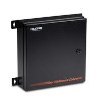 Black Box NEMA-4/IP66-Rated Fiber Splice Tray Wallmount Enclosure Netwerkchassis - Zwart