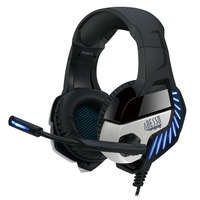 Adesso Virtual 7.1 Surround Sound Gaming Headphone/Headset with Vibration Casque - Noir