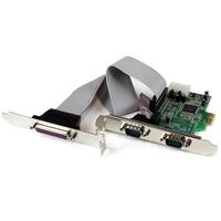 StarTech.com 2S1P Native PCI Express Parallele Seriële Combokaart met 16550 UART Interfaceadapter