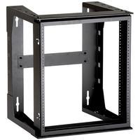 Black Box Wall Frame, 12U Rack toebehoren - Zwart