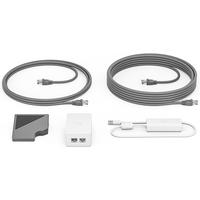 Logitech Cat5e Kit Adaptateur et injecteur PoE - Blanc