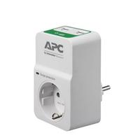 APC Essential SurgeArrest, 1 prise, 230 V, 2 ports de charge USB, RU Protecteur tension - Blanc