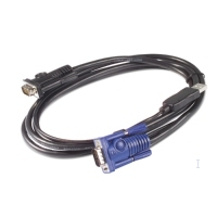APC KVM USB Cable - 25 ft (7.6 m) KVM kabel - Zwart