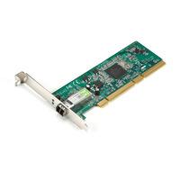 Black Box PCI Fiber Adapter, 1000BASE-SX, 64-/32-Bit, Multimode, LC Adaptateur Interface - Argent