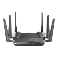 D-Link AX5400 Wifi 6 DIR‑X5460 Router - Zwart
