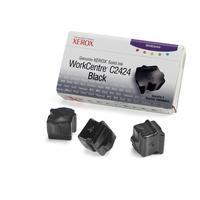 Xerox Encre solide Noire WorkCentre C2424 d'origine (3 bâtonnets) Bâton d'encre