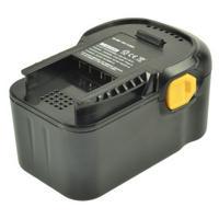 2-Power Power Tool Battery, 18V, 3000mAh - Noir