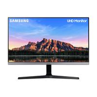 "Samsung 28"" UHD UR55 Moniteur - Bleu,Gris"
