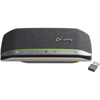 POLY Sync 20+, Microsoft, USB-C (BT600C) Luidsprekertelefoon - Zwart, Zilver