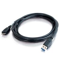 C2G 3.0 mâle A vers micro USB mâle B de 1M Câble USB - Noir