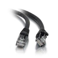 C2G Câble de raccordement réseau Cat5e avec gaine non blindé (UTP) de 1,5M - Noir Câble de réseau