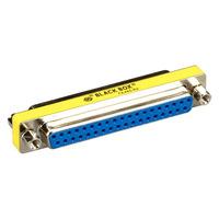 Black Box Gender changer, DB-37 (F)/DB-37 (F) Adaptateur de câble - Bleu,Argent,Jaune