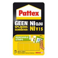 Pattex Dubbelzijdige montagestrips - Geel