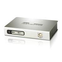 ATEN UC4852-AT Hub d'interface - Argent