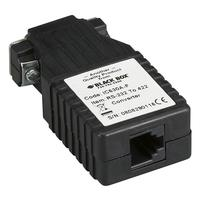 Black Box RS-232 to RS-422 Interface Bidirectional Converter, DB9 Female to RJ-11 Seriële .....