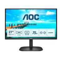 AOC 27 inch 4 ms VA HDMI 1.4 x 1, VGA Monitor - Zwart