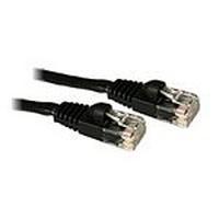 C2G 15m Cat5E 350MHz Snagless Patch Cable Câble de réseau - Noir