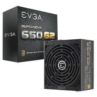 EVGA SuperNOVA 650 G2 Gestabiliseerde voedingseenheden - Zwart