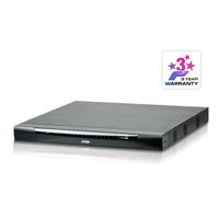 Aten 32 ports Multi-Interface Cat 5 sur IP accès de partage 1 local/4 distants Commutateur KVM - Métallique
