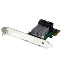 StarTech.com 4-poorts PCI Express 2.0 SATA III 6 Gbpskaart met HyperDuo SSD Tiering RAID-controller