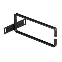 """Black Box Rackmount Ring Bracket - 2U, 3.5""""H x 2.5""""W x 6""""D Rack toebehoren - Zwart"""