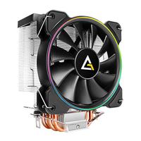 Antec A400 RGB Ventilateur - Black, Cuivre, Métallique