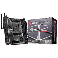 MSI AMD B550, AM4, 2x DDR4, HDMI, SATA III, M.2, USB 3.2, 2.5G LAN, Wi-Fi, PS/2, S/PDIF, Mini-ITX, 170x170 mm .....
