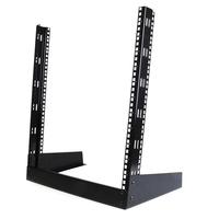 StarTech.com 12U 19 inch Desktop Open Frame 2 Post Rack Stellingen/racks - Zwart