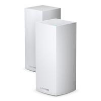 Linksys AX5300 MU-MIMO Tri-Band Gigabit, 1147+2402+1733 Mbps, WLAN 802.11, LAN, USB, 2 Pack, 1.59 kg - Noir, .....