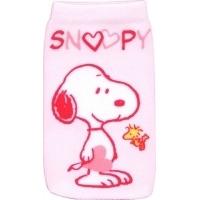 J-Straps Peanuts - Socke Snoopy in love - Roze