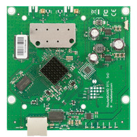 Mikrotik 600Mhz CPU, 64MB RAM, 1xEthernet, onboard 5Ghz Dual chain wireless, RouterOS L3