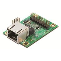 Moxa 10/100 Mbps embedded drop in module serial device servers with PoE pass-through support Seriële server - Groen