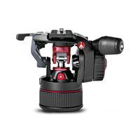 """Manfrotto 8kg Capacity, 3/8"""", 2.2kg, Aluminium, Black/Red Tête de trépied - Noir, Rouge"""