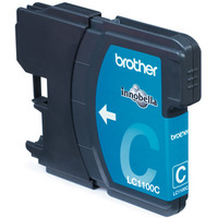 Brother LC-1100CBP Blister Pack Inktcartridge - Cyaan